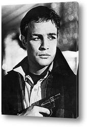 Картина Актёр Марлон Брандо.