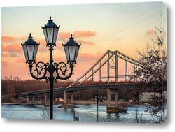 Картина Городской фонарь