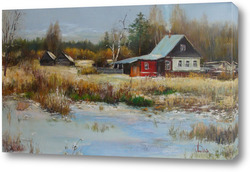 Картина Скоро зима