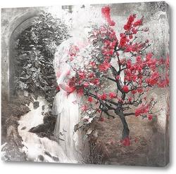 Картина Цветущее дерево
