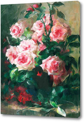 Картина розы 8 от F. Mortelmans