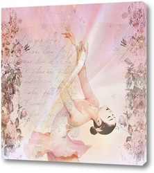 Картина Чувственная балерина