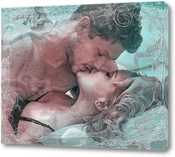 Картина Поцелуй...