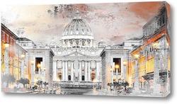 Картина Рим, Ватикан