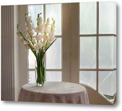 Картина Белый гладиолус