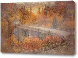 Картина Осенняя дорога