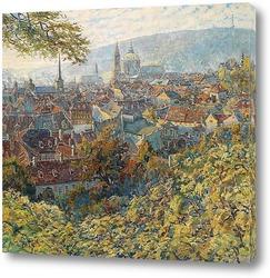 Картина Вид на Прагу