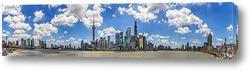 Картина Шанхайская панорама