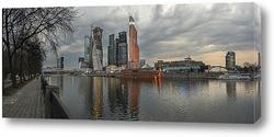 Картина Панорама Москва-сити