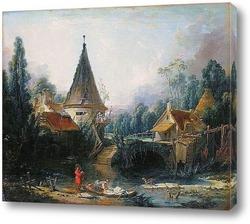 Пейзаж в окрестностях Бовэ