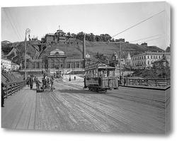 Картина Похвалинский элеватор и электростанция 1896  –  1917