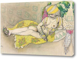 Картина Желтая султанша