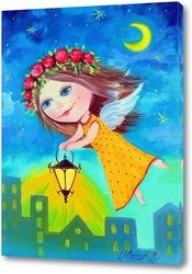 Картина Ангелочек света