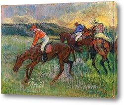 Картина Три жокея