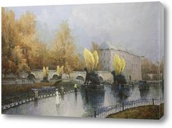Картина Банковский мост. Санкт-Петербург. 1952-2000.