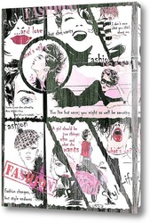 Картина Fashion comic