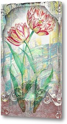 Картина Распустившиеся тюльпаны