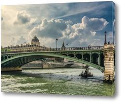 Картина Прогулка по Сене.