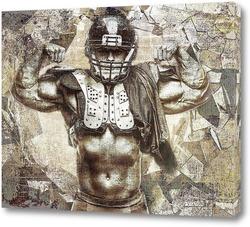 Картина Сильный спортсмен