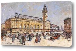 Картина Вокзал Лиона