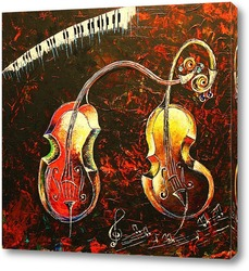 Картина Любовь под музыку Вивальди