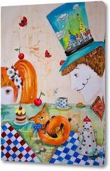 """Безумное чаепитие """"Шляпник и Алиса"""""""