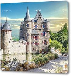 Картина  Замок Сацвей в Германии