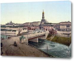 Картина Вид на Сергиевскую площадь и Университетскую горку 1896 ,  Украина,  Харьковская область,  Харьков
