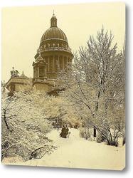 Картина Исаакиевский собор 1903  –  1913