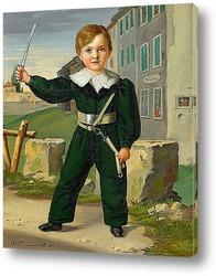 Картина Портрет мальчика в военной форме, 1833