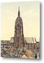 Картина Собор, Франкфурт-на-Майне, Германия. 1890-1900 гг