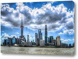 Картина Downtown Shanghai