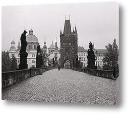Картина Карлов Мост в Чехии.