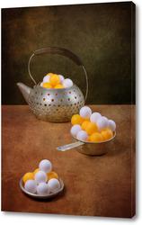 Картина Натюрморт со странным чайником