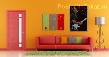 Модульная картина Erik Clapton