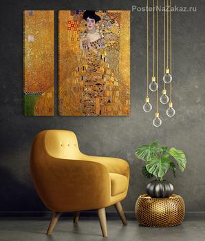 Модульная картина Адель Блох-Бауэр I