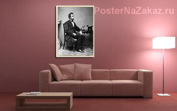 Модульная картина 16-й-Авраам Линкольн_2