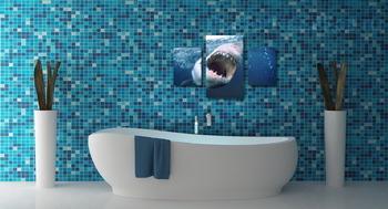 Модульная картина Shark008