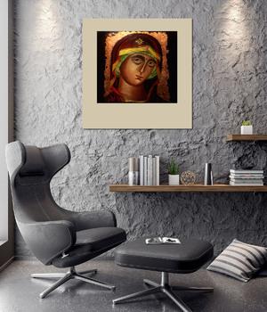 Модульная картина Дева мария