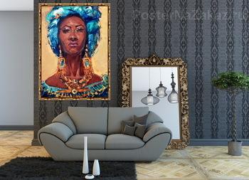 Модульная картина Королева Африки.