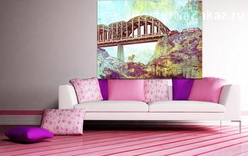 Модульная картина Ретро мост