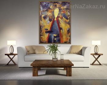 Модульная картина Святой