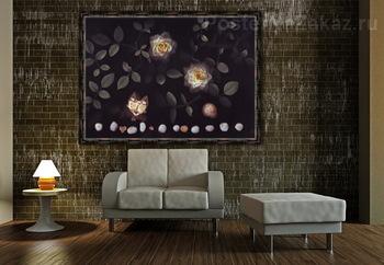 Модульная картина Таинственный сад