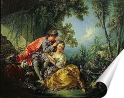 Постер Четыре времени года. Весна (1755)