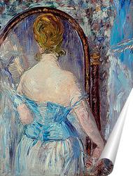 Постер Мане перед зеркалом