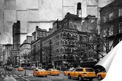 Постер Желтое такси