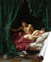 Постер Марс и Венера, аллегория мира