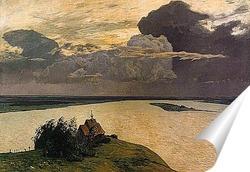 Постер Над вечным покоем, 1894