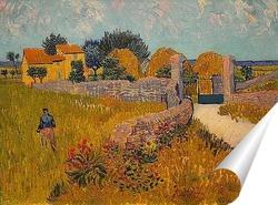 Постер Сельский дом в Провансе, 1888