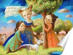 Постер Волшебный сад